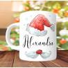 Mug Père Noël prénom - Cadeau de Noël