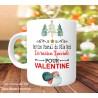 Mug de Noël - Personnalisé prénom - Modèle Hotte personnalisée V2