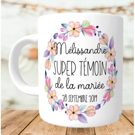 mug super_témoin_de_la_mariée
