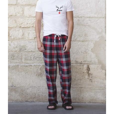Pyjama de Noël Personnalisé - Modèle Homme