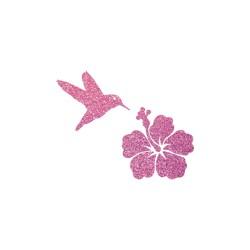 Colibri et Hibiscus