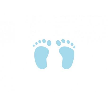 flex thermocollant empreinte de pieds