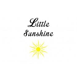 "Motif thermocollant ""Little sunshine"""