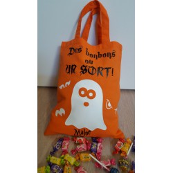 Sac à bonbons halloween modèle Fantôme