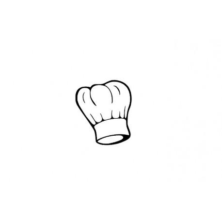 appliqué thermocollant toque cuisinier