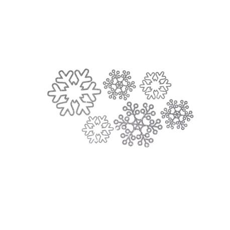 flocons de neige flex thermocollant