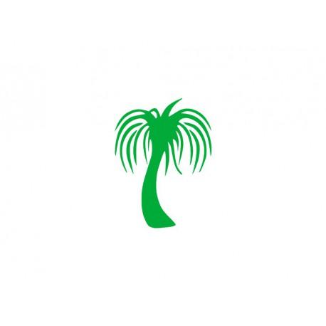 flex thermocollant motif palmier