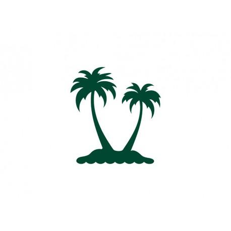 appliqué thermocollant palmier