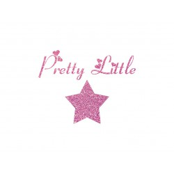 "Motif thermocollant ""Pretty little star"""
