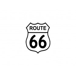 "Motif en flex thermocollant ""Route 66"""