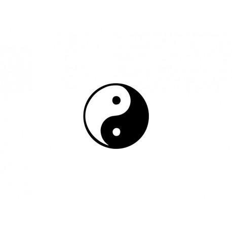 motif yin yang en flex thermocollant