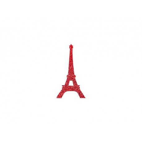 Tour eiffel en flex thermocollant