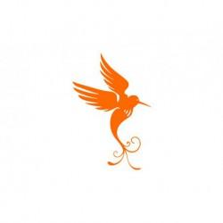 "Motif thermocollant ""Oiseau V2"""