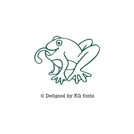 grenouille en flex thermocollant