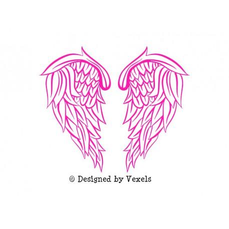 ailes d'ange en flex thermocollant
