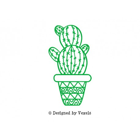 cactus en flex thermocollant