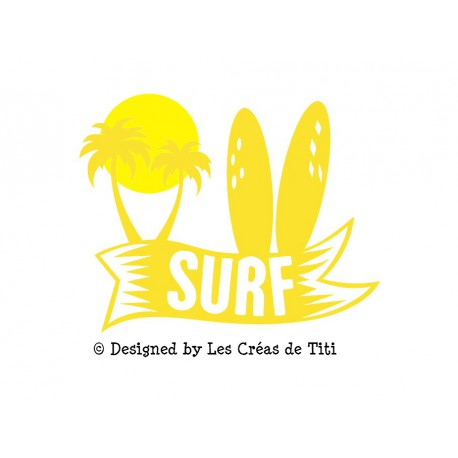 appliqué surf en flex thermocollant