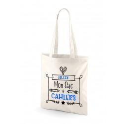 Tote Bag Sac à cahiers personnalisé