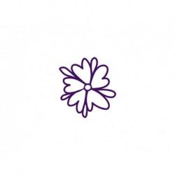 """Appliqué flex thermocollant """"Fleur 15"""""""