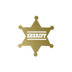 Badge Shériff