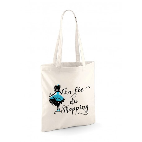Tote Bag fée du shoppng
