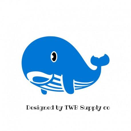 motif thermocollant baleine