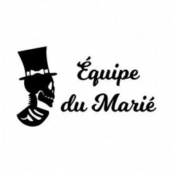 """Transfert enterrement de Vie de garcon """" Equipe du Marié V1"""""""