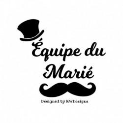 """Transfert enterrement de Vie de garcon """" Equipe du Marié V3"""""""