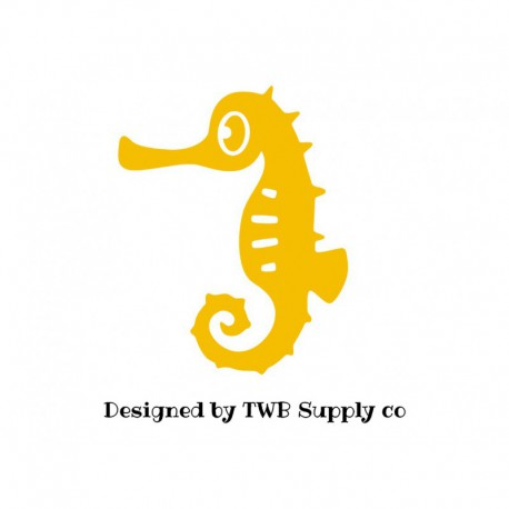 motif thermocollant hippocampe