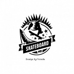 transfert thermocollant skateboard