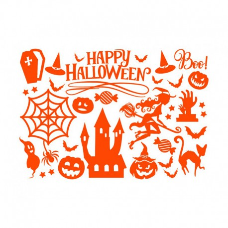 appliqué en flex thermocollant halloween