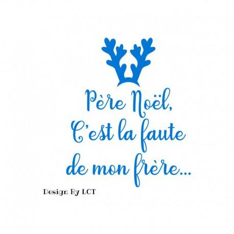 tshirt-humour-pere-noel-c-est-la-faute-de-mon-frere