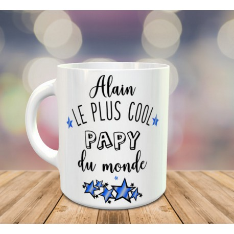 Mug Le Plus cool Papy du monde