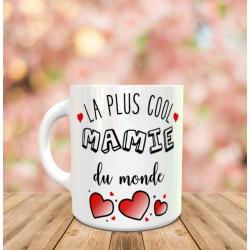 Mug La plus cool mamie du monde