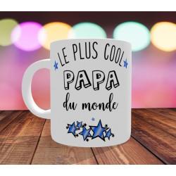 Mug Le Plus cool Papa du monde