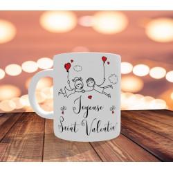 Mug Personnalisable Saint Valentin couple amoureux