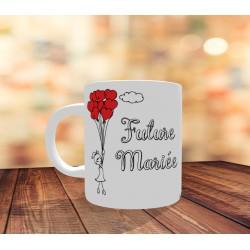 Mug Future Mariée personnalisé