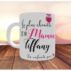 Mug La plus chouette c'est ma Maman - PERSONNALISABLE- Fête des mères
