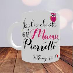 Mug La plus chouette c'est ma Mamie - PERSONNALISABLE-