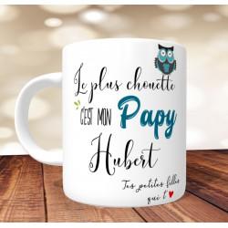 Mug Le plus chouette c'est mon Papy - PERSONNALISABLE