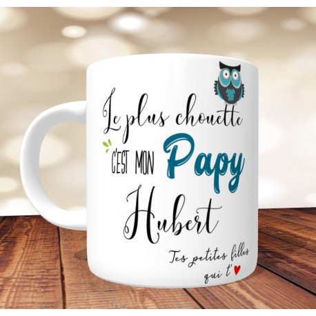 mug-chouette-papy-personnalisé