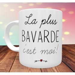 Mug Humour Bavarde, chiante, jolie sexy, râleuse....