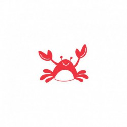 Motif Crabe à thermocoller