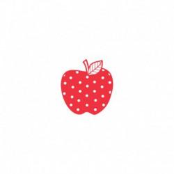 Appliqué Pomme à Pois - 3 Tailles au choix