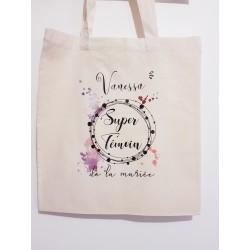 Tote Bag Super Témoin - Personnalisable