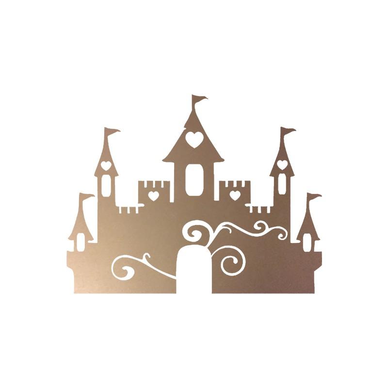 Motif thermocoller ch teau de princesse - Dessiner un chateau de princesse ...