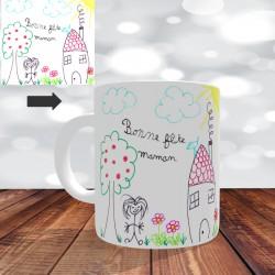 Mug Personnalisé dessin d'enfant - Impression Recto