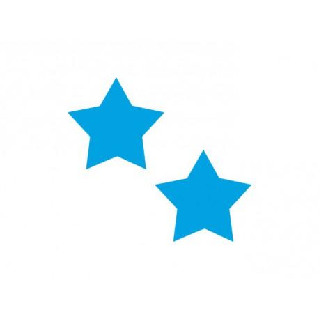 Lot de 2 étoiles - Tailles et Couleurs au choix