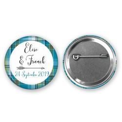 Badge pour votre mariage thème des iles - Cadeaux invités mariage