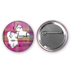 Badge Cadeau Invité Personnalisé - Format et couleur au choix